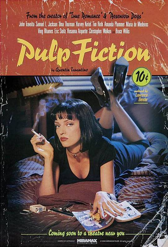 Pulp Fiction Large Poster