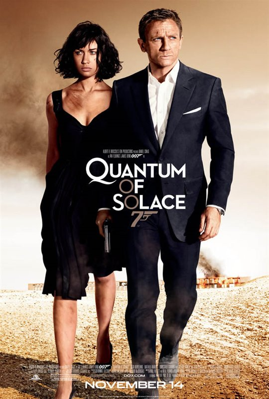 Quantum of Solace Large Poster
