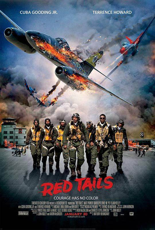 Red Tails Large Poster