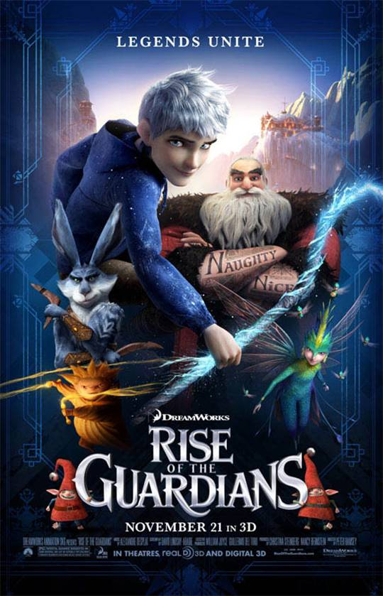 Rise of the Guardians Large Poster