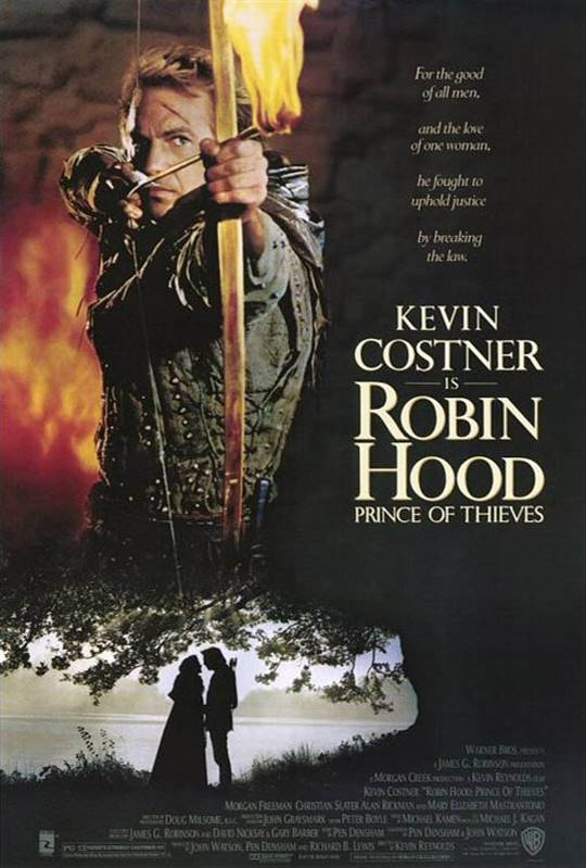 Robin Hood: Prince of Thieves Large Poster