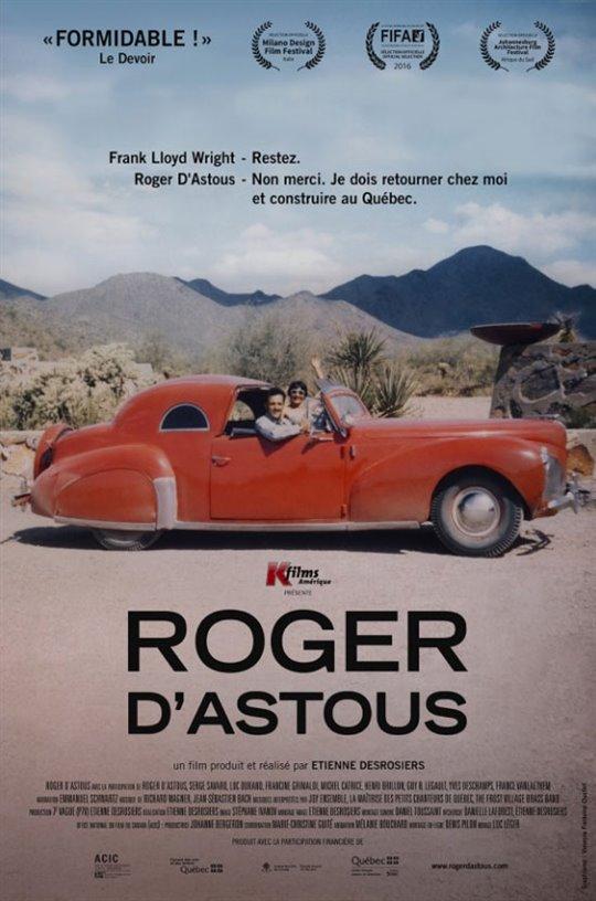 Roger D'Astous (v.o.f.) Large Poster