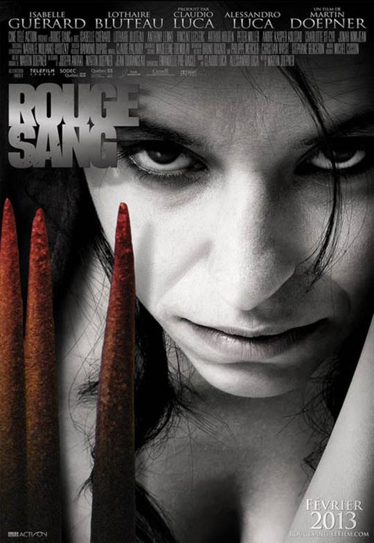 Rouge sang Large Poster