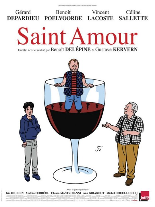 Saint Amour Large Poster