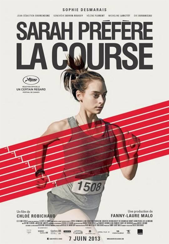 Sarah Prefers to Run Large Poster