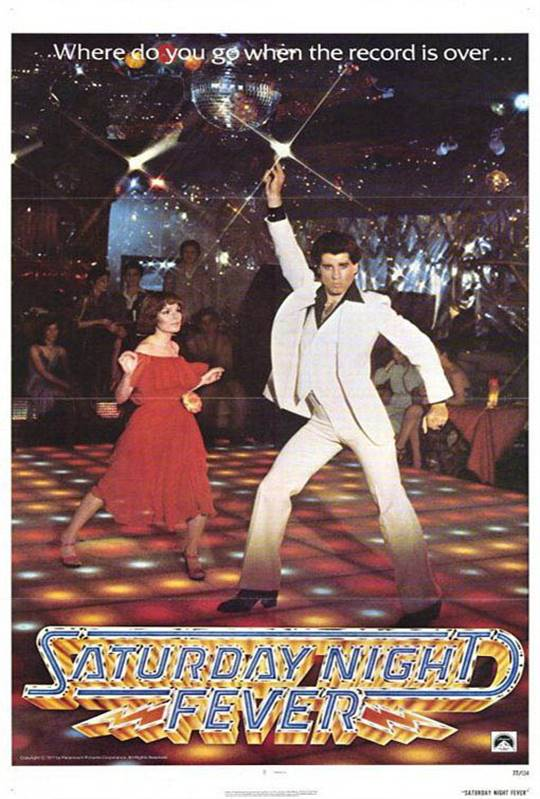 Saturday Night Fever Large Poster