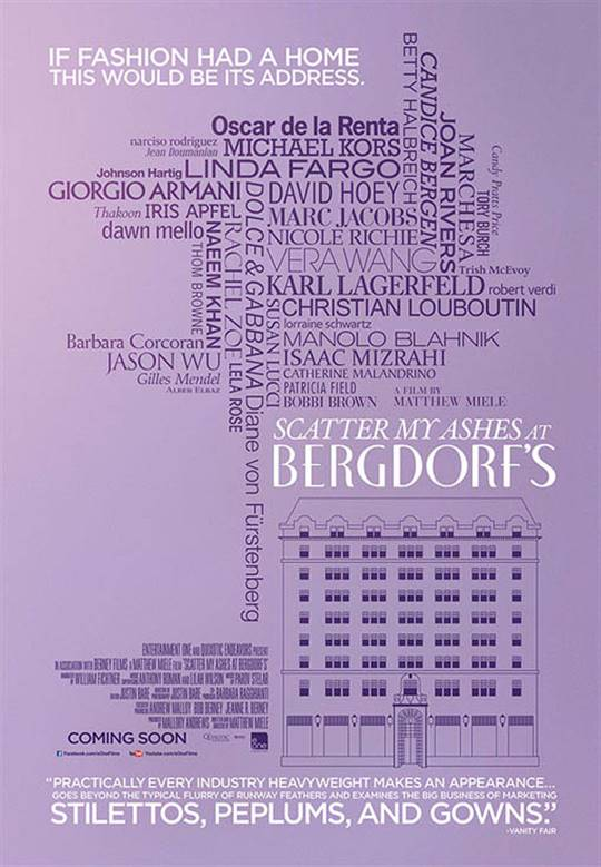 Scatter My Ashes at Bergdorf's Large Poster
