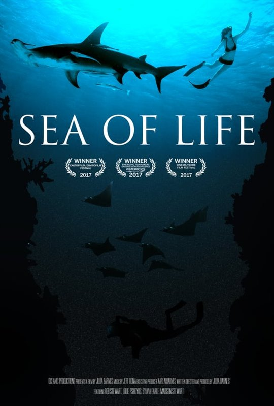 Sea of Life Large Poster