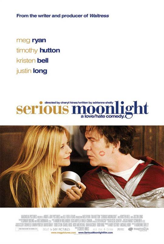 Serious Moonlight Large Poster