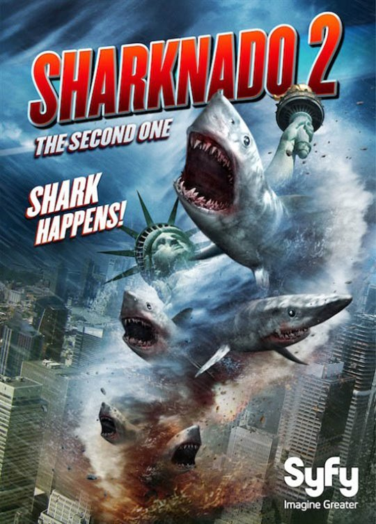 Sharknado 2: The Second One Large Poster