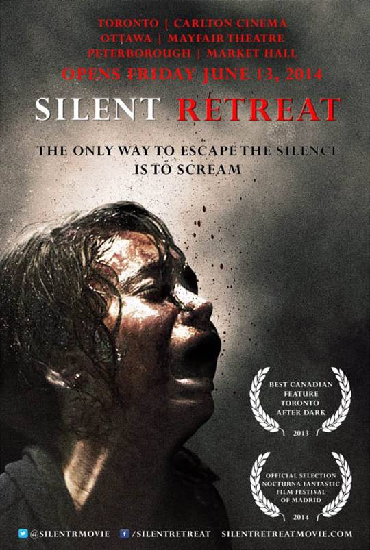 Silent Retreat Large Poster