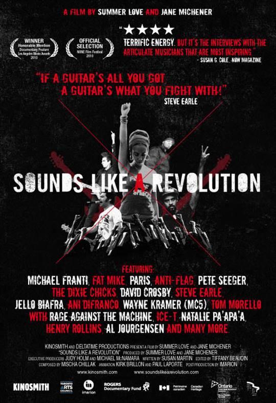 Sounds Like a Revolution Large Poster