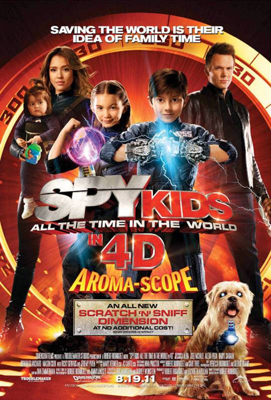 | Time All Spy 3D  | DVD in Movie the the World On Kids: