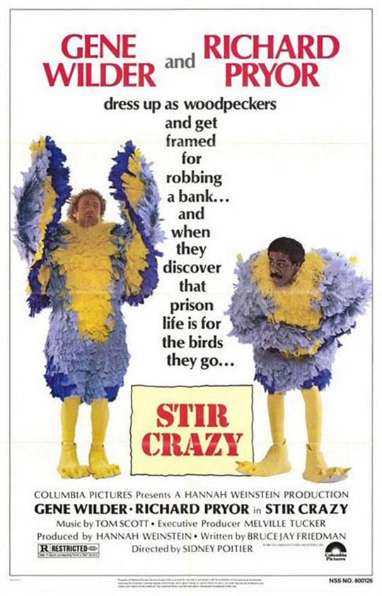 Stir Crazy Large Poster