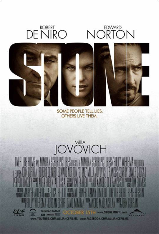 Stone Large Poster