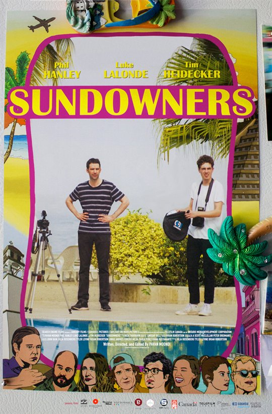 Sundowners Large Poster