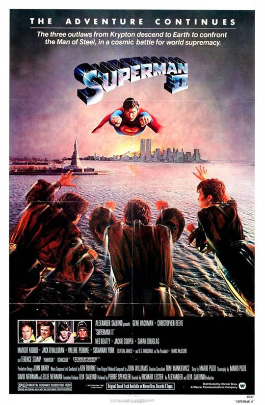 Superman II Large Poster
