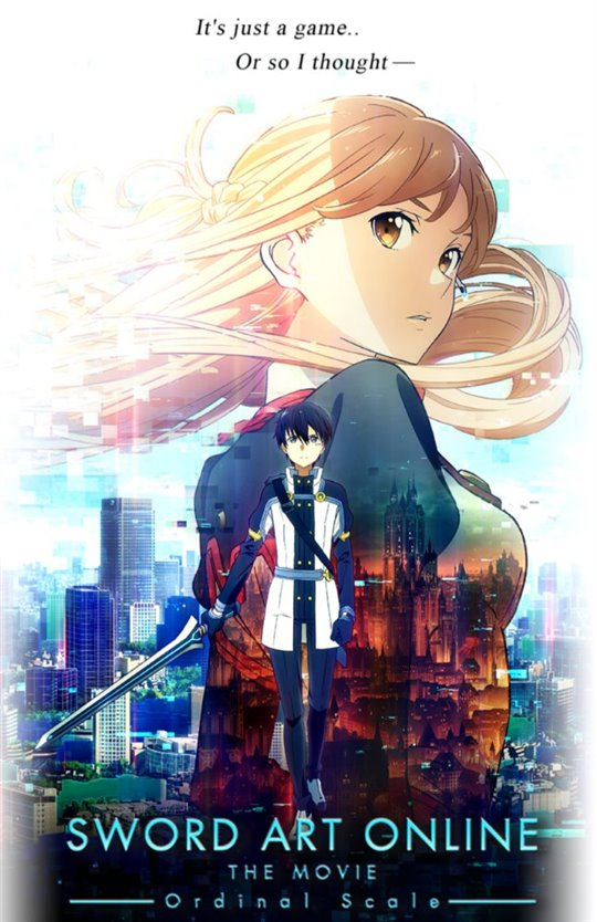 Sword Art Online The Movie: Ordinal Scale Large Poster