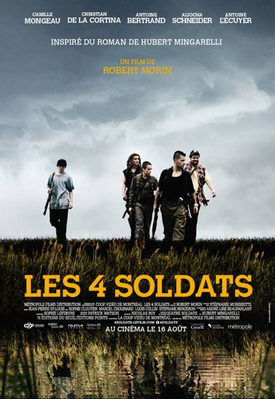 The 4 Soldiers Large Poster