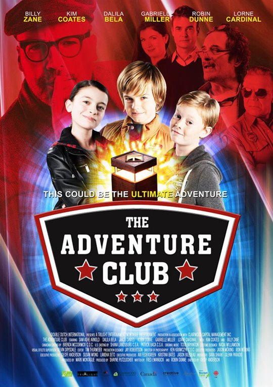 The Adventure Club Large Poster