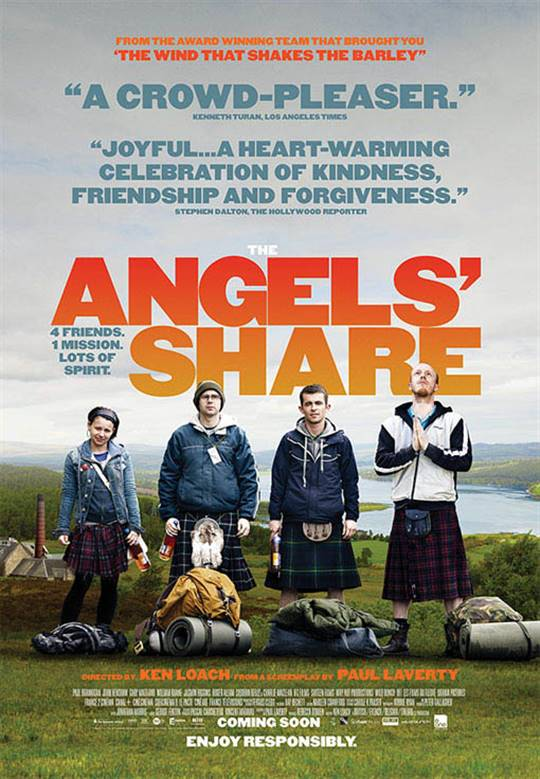 The Angels' Share Large Poster