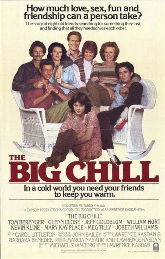 The Big Chill Large Poster