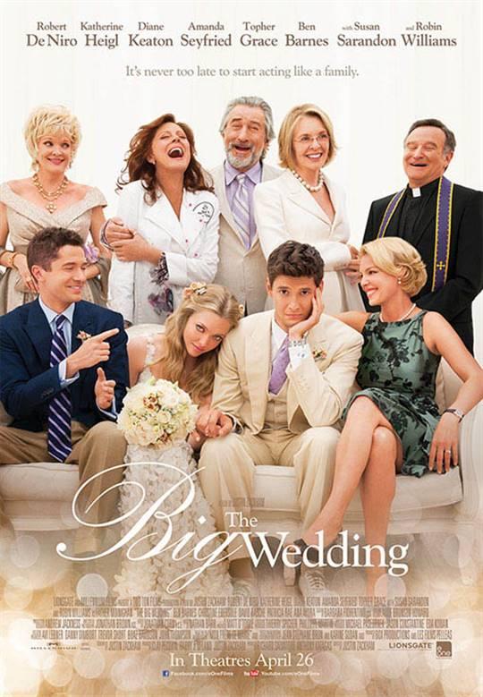 The Big Wedding Large Poster