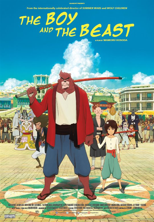 The Boy and the Beast Large Poster