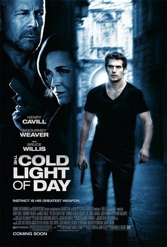 The Cold Light of Day Large Poster