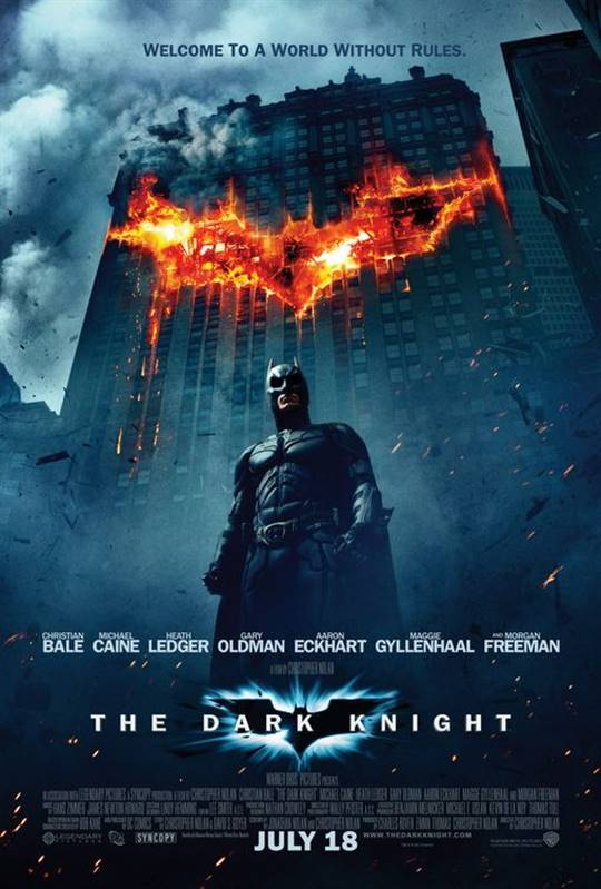 The Dark Knight Large Poster
