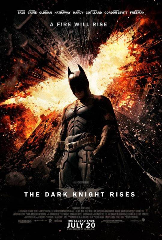 The Dark Knight Rises Large Poster