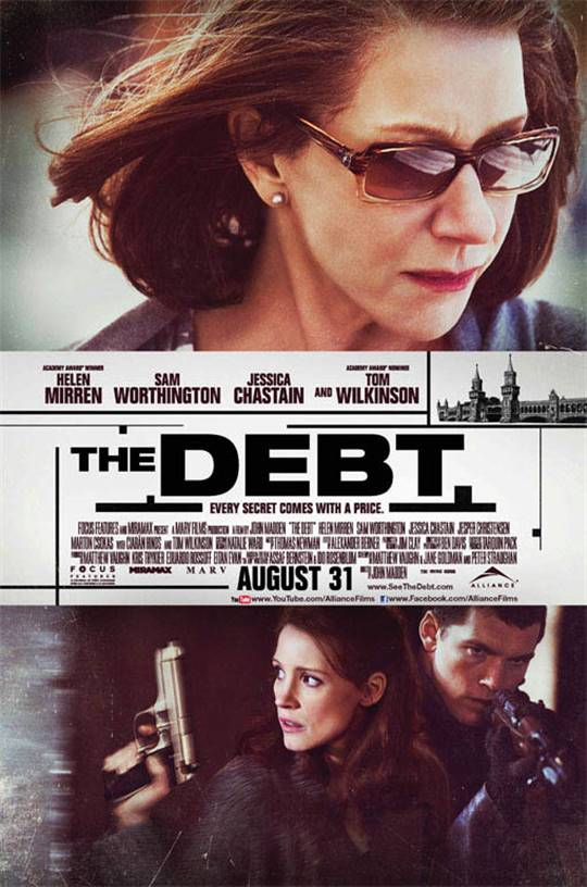 The Debt (2010) Large Poster