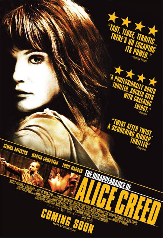 The Disappearance of Alice Creed : On DVD : Movie Synopsis ...