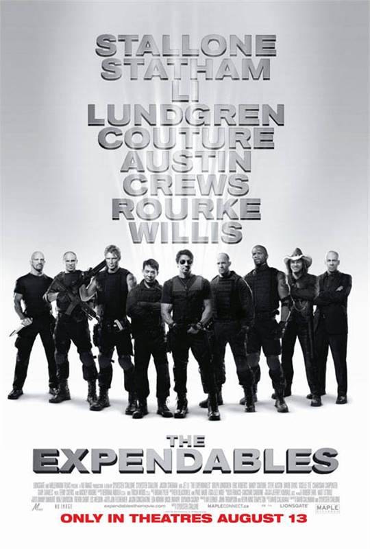 The Expendables Large Poster
