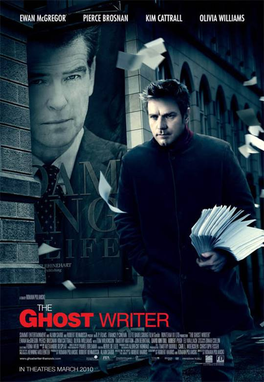 The Ghost Writer Large Poster