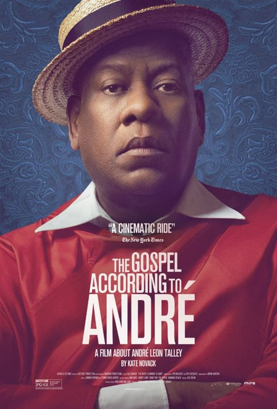 The Gospel According to André (v.o.a.) Large Poster