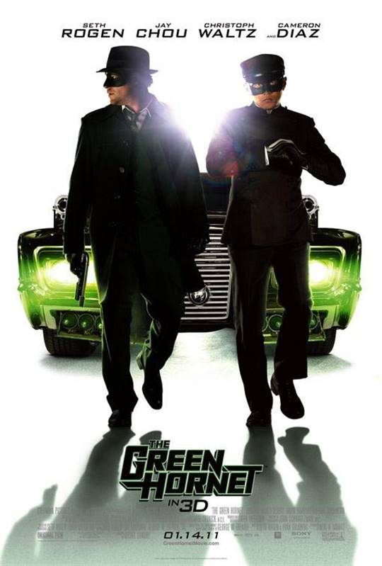 The Green Hornet Large Poster