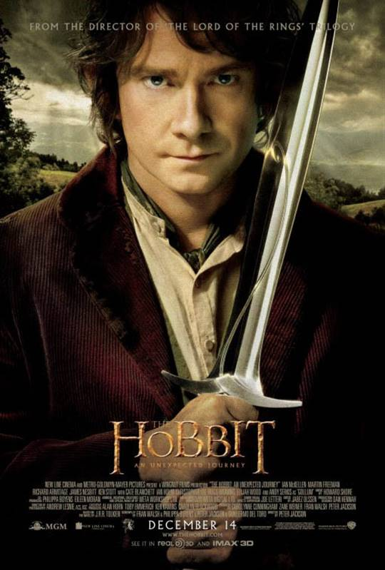 The Hobbit: An Unexpected Journey Large Poster