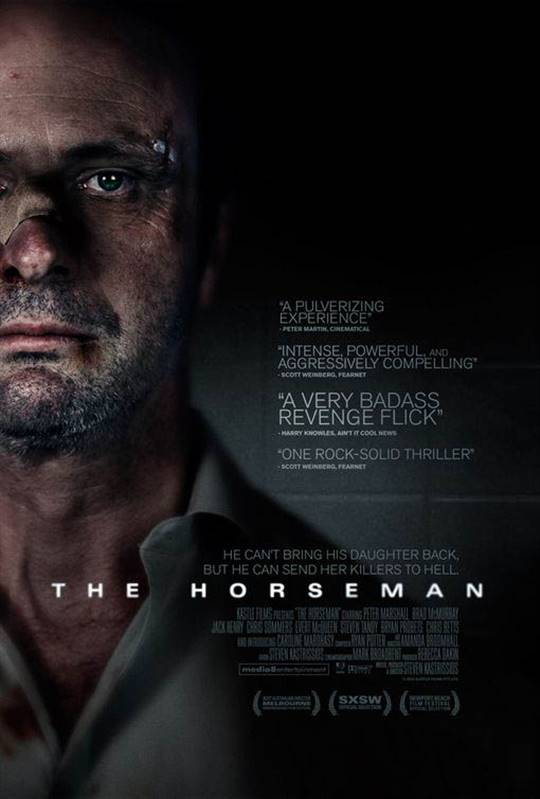 The Horseman Large Poster