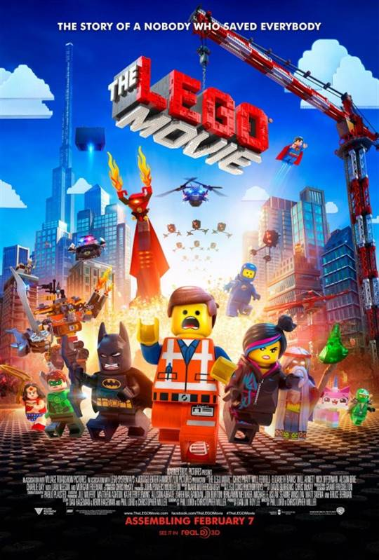 The Lego Movie Large Poster