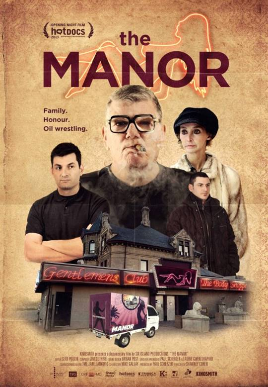 The Manor Large Poster