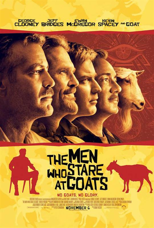 The Men Who Stare at Goats Large Poster