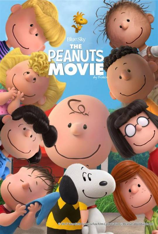 The Peanuts Movie Large Poster