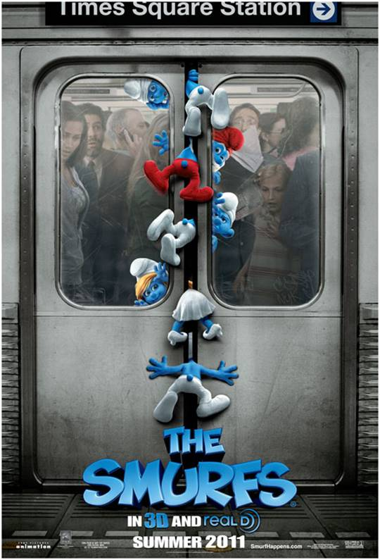 The Smurfs Large Poster