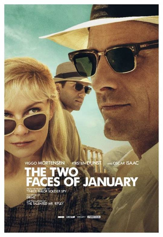 The Two Faces of January Large Poster