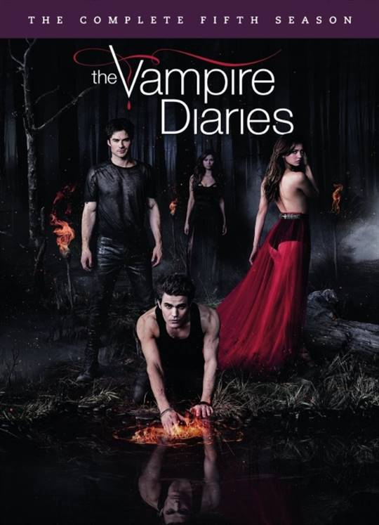 The Vampire Diaries: The Complete Fifth Season Large Poster