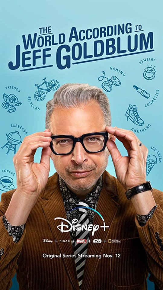 The World According to Jeff Goldblum (Disney+) Large Poster