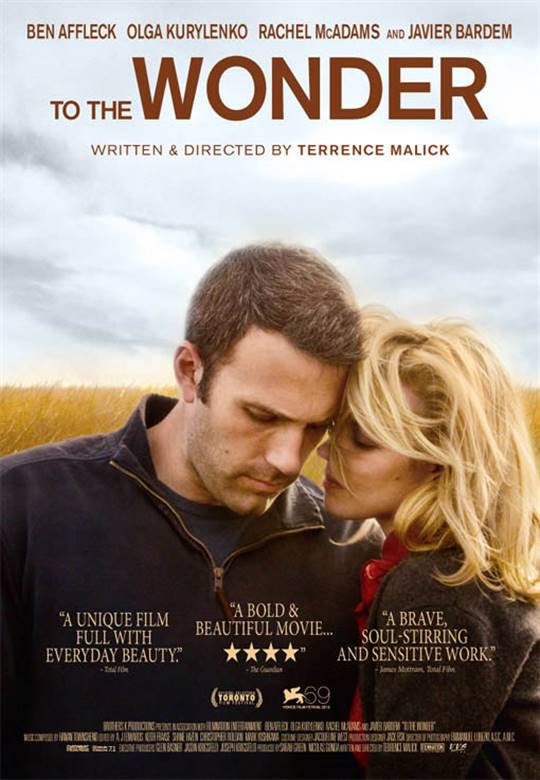 To the Wonder | On DVD | Movie Synopsis and info