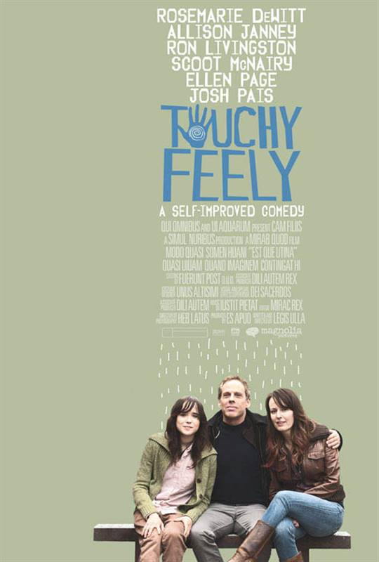 Touchy Feely Large Poster