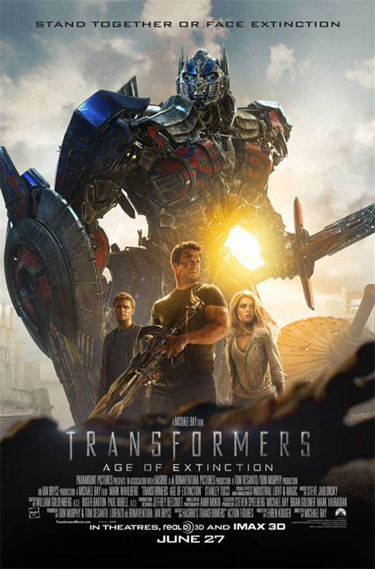 Transformers: Age of Extinction Large Poster